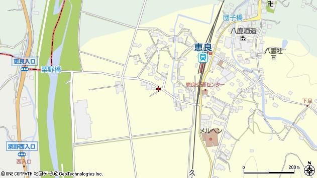 大分県玖珠郡九重町右田2902周辺の地図