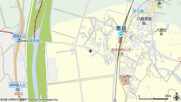 大分県玖珠郡九重町右田2904周辺の地図