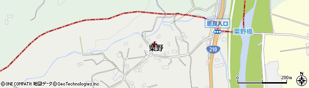 大分県玖珠郡九重町粟野1382周辺の地図