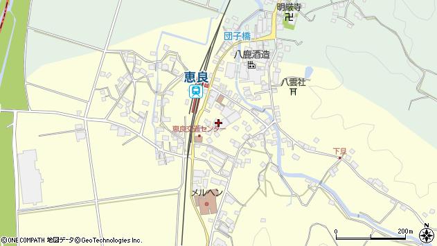 大分県玖珠郡九重町右田3076周辺の地図