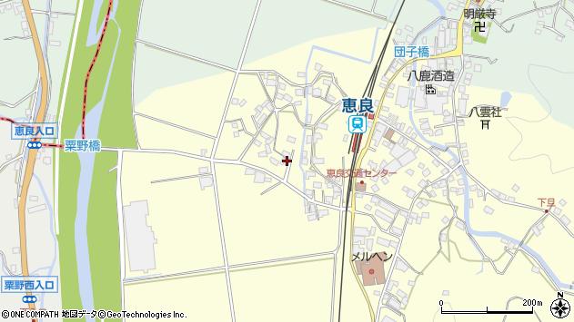 大分県玖珠郡九重町右田2950周辺の地図