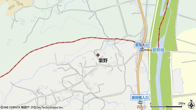 大分県玖珠郡九重町粟野1329周辺の地図