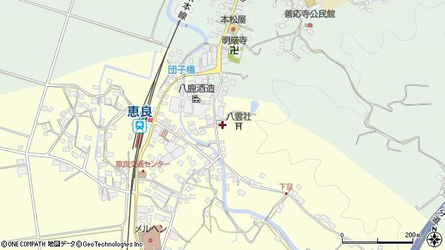 大分県玖珠郡九重町右田3407周辺の地図