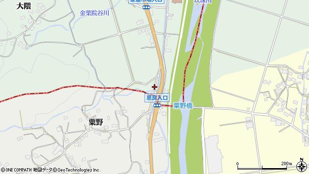 大分県玖珠郡玖珠町大隈1048周辺の地図