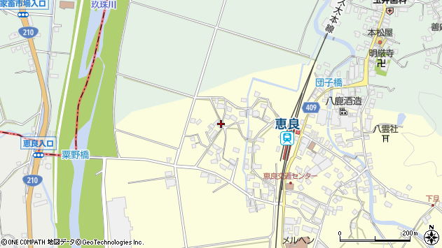 大分県玖珠郡九重町右田2973周辺の地図
