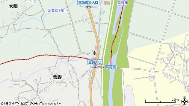 大分県玖珠郡玖珠町大隈1049周辺の地図