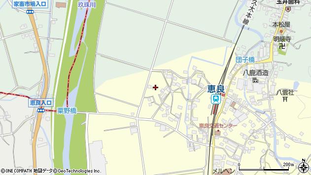 大分県玖珠郡九重町右田2944周辺の地図