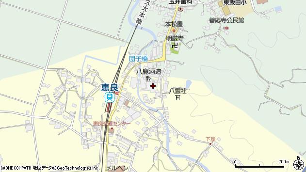 大分県玖珠郡九重町右田3364周辺の地図