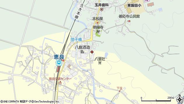 大分県玖珠郡九重町右田3372周辺の地図