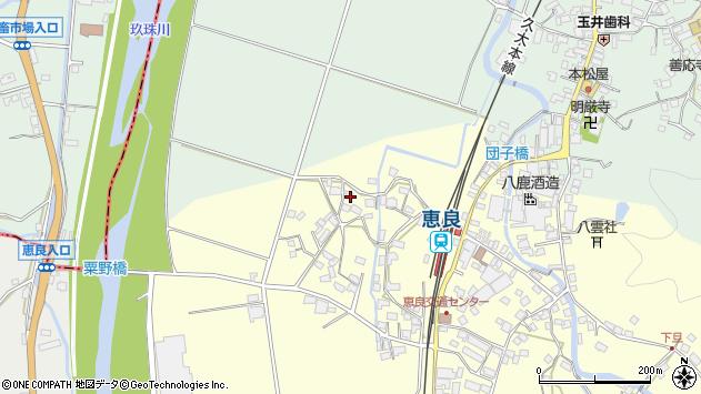 大分県玖珠郡九重町右田3037周辺の地図