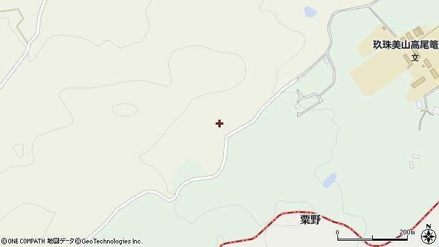 大分県玖珠郡玖珠町大隈1779周辺の地図