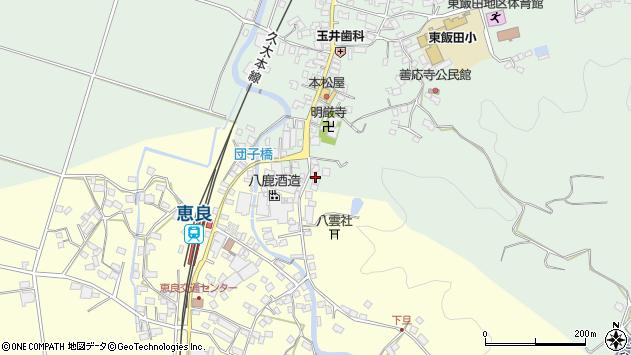 大分県玖珠郡九重町恵良588周辺の地図