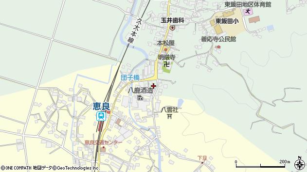 大分県玖珠郡九重町恵良587周辺の地図