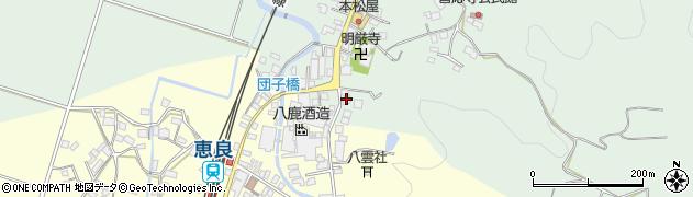 大分県玖珠郡九重町恵良590周辺の地図