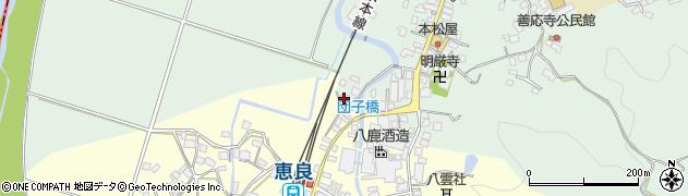 大分県玖珠郡九重町恵良7周辺の地図