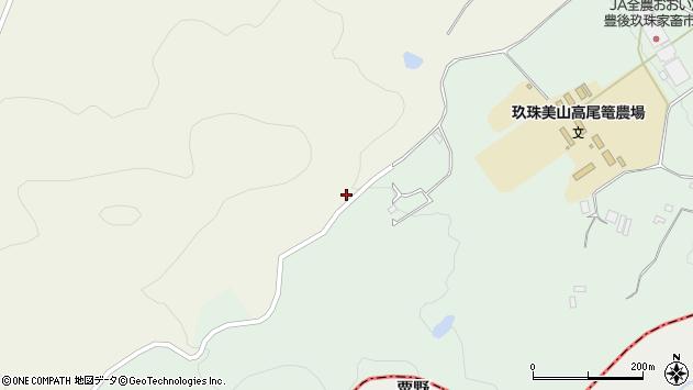 大分県玖珠郡玖珠町山田3641周辺の地図