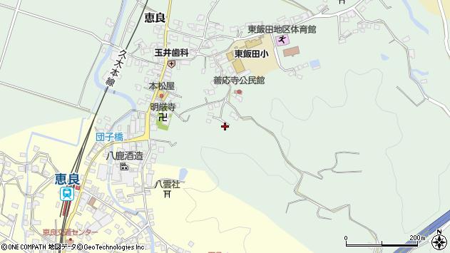 大分県玖珠郡九重町恵良692周辺の地図