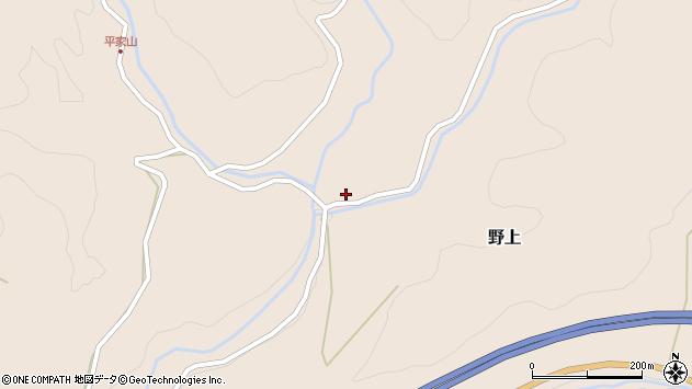 大分県玖珠郡九重町野上4284周辺の地図