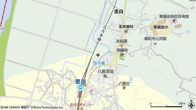 大分県玖珠郡九重町恵良6周辺の地図