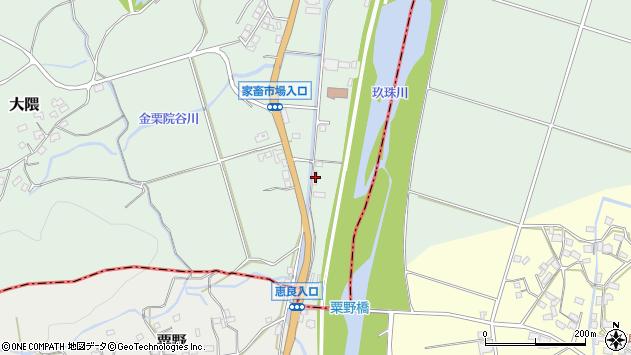大分県玖珠郡玖珠町大隈1895周辺の地図