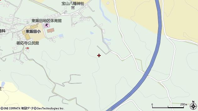 大分県玖珠郡九重町恵良見良津周辺の地図