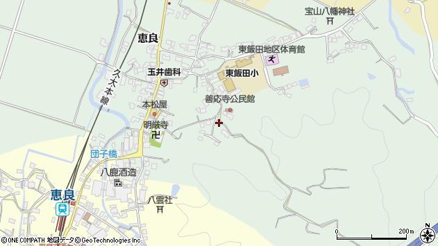 大分県玖珠郡九重町恵良674周辺の地図