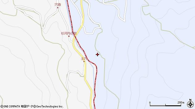 大分県玖珠郡玖珠町山浦889周辺の地図