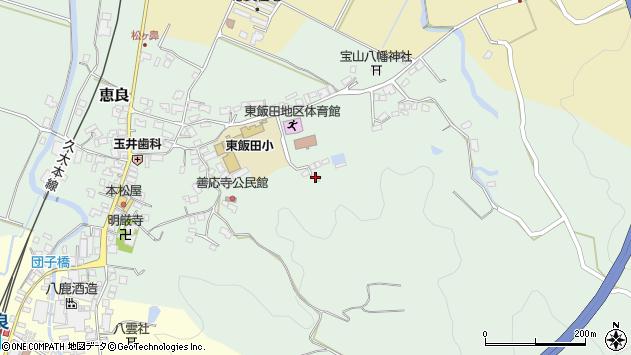 大分県玖珠郡九重町恵良956周辺の地図