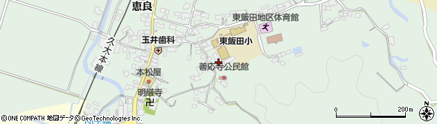 大分県玖珠郡九重町恵良929周辺の地図