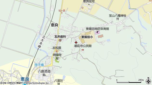大分県玖珠郡九重町恵良503周辺の地図