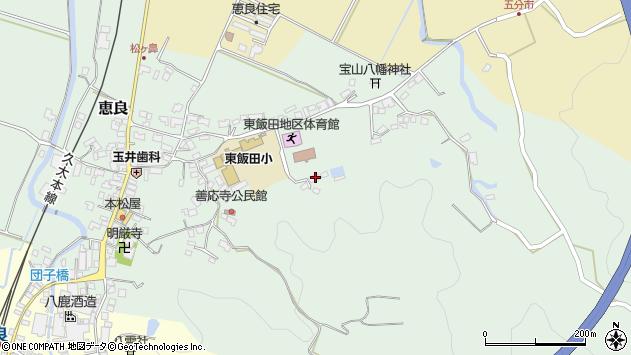 大分県玖珠郡九重町恵良952周辺の地図