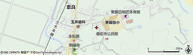 大分県玖珠郡九重町恵良502周辺の地図