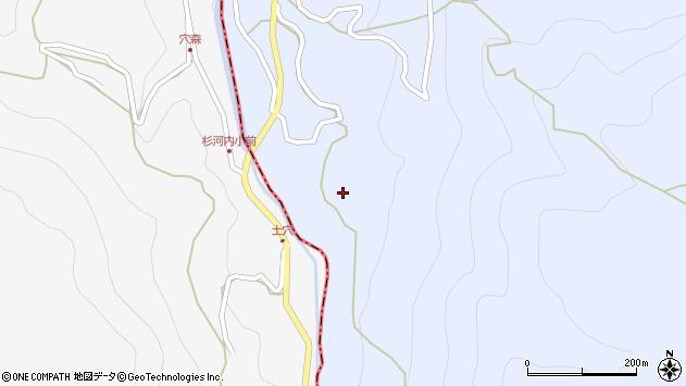 大分県玖珠郡玖珠町山浦887周辺の地図