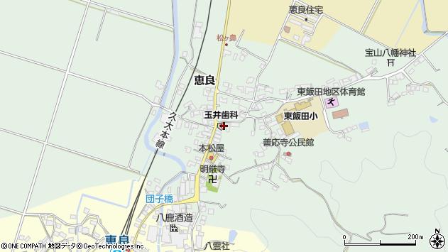 大分県玖珠郡九重町恵良540周辺の地図