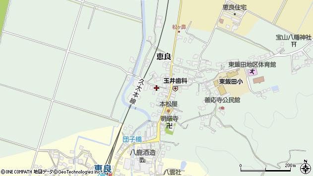 大分県玖珠郡九重町恵良551周辺の地図