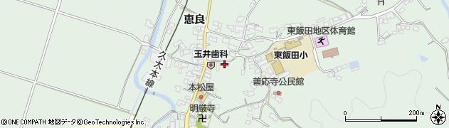 大分県玖珠郡九重町恵良520周辺の地図