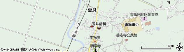 大分県玖珠郡九重町恵良542周辺の地図
