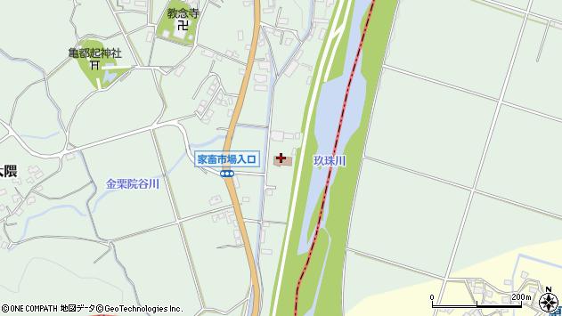 大分県玖珠郡玖珠町大隈1038周辺の地図