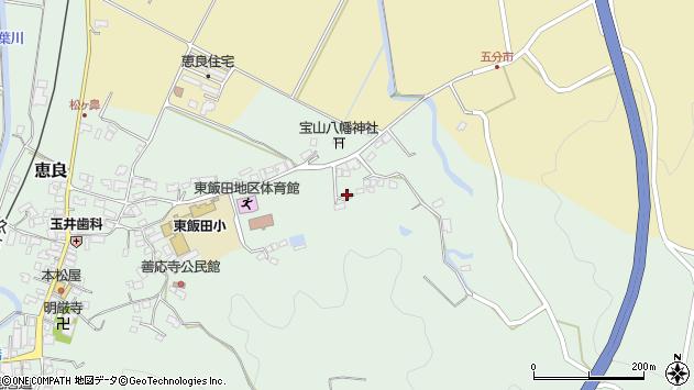 大分県玖珠郡九重町恵良994周辺の地図