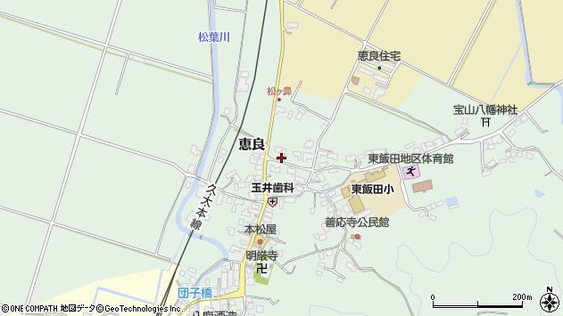 大分県玖珠郡九重町恵良477周辺の地図