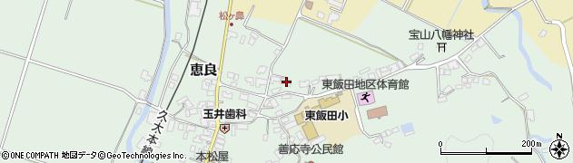 大分県玖珠郡九重町恵良488周辺の地図