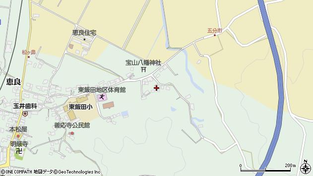 大分県玖珠郡九重町恵良909周辺の地図