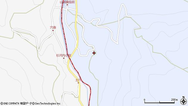 大分県玖珠郡玖珠町山浦845周辺の地図