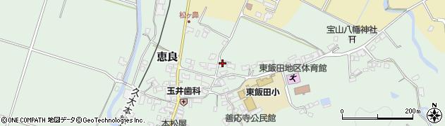大分県玖珠郡九重町恵良490周辺の地図