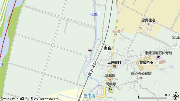 大分県玖珠郡九重町恵良251周辺の地図