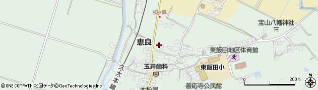 大分県玖珠郡九重町恵良428周辺の地図