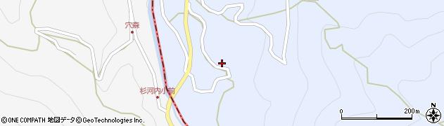 大分県玖珠郡玖珠町山浦808周辺の地図