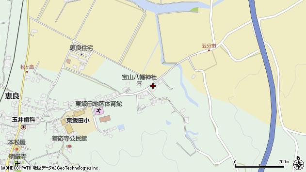 大分県玖珠郡九重町恵良385周辺の地図
