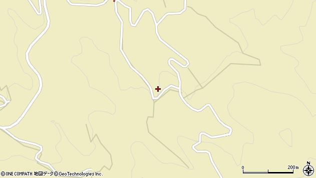 大分県玖珠郡九重町松木4204周辺の地図