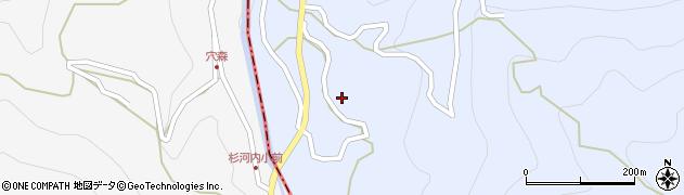 大分県玖珠郡玖珠町山浦807周辺の地図